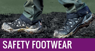 Safety footwear, work boots and safety shoes