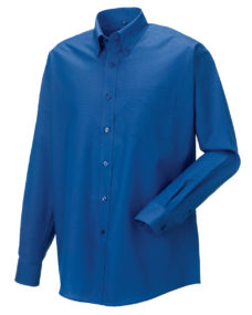 Russell Men's Long Sleeve Easy Care Oxford Shirt