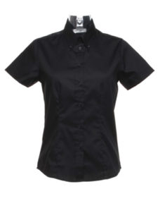 Ladies' Corporate Oxford Short Sleeve Shirt