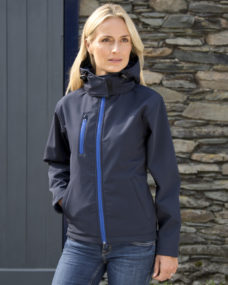 Result Ladies' Hooded TX Performance Softshell Jacket