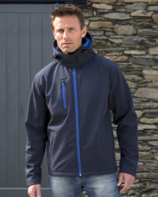 Result Men's Hooded TX Performance Softshell Jacket